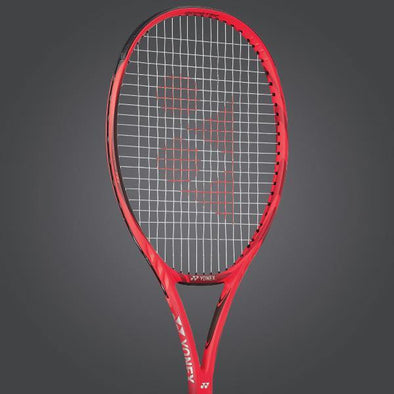 Yonex VCore 98 Unstrung Tennis Racket [Flame Red]
