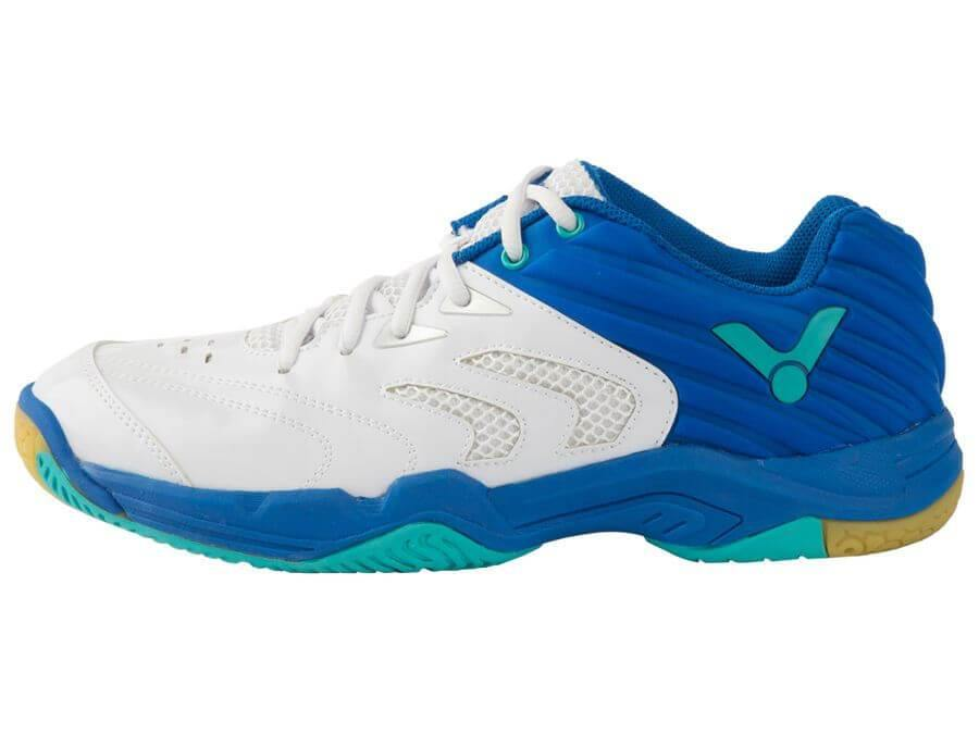 Victor A630 AF Unisex Court Shoes [White/Blue] ShoesVictor - Yumo Pro Shop - Racquet Sports online store