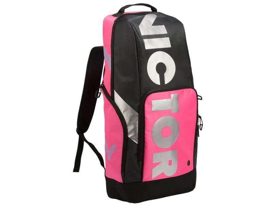 Victor BR 8018QC Backpack [Pink/ Black] BagVictor - Yumo Pro Shop - Racquet Sports online store