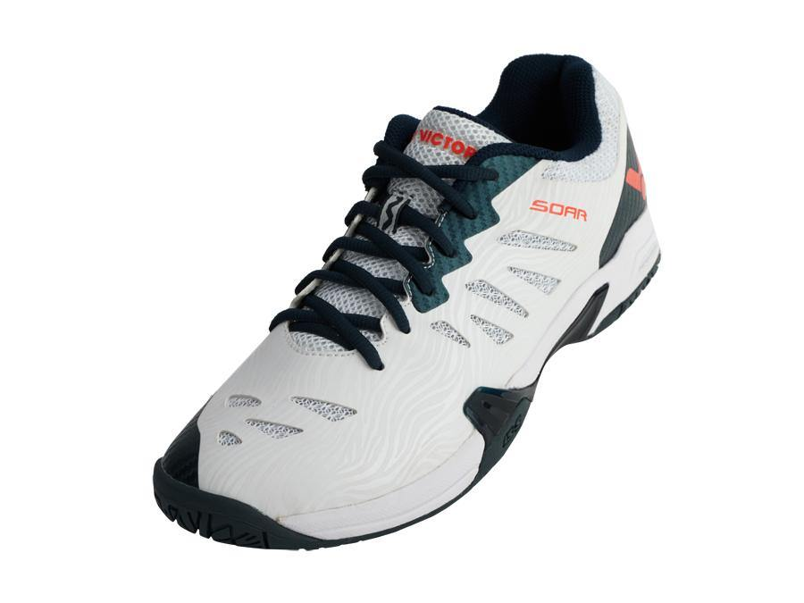 Victor 2020 SOAR - AC Court Shoes [White/Black] 2020Victor - Yumo Pro Shop - Racquet Sports online store