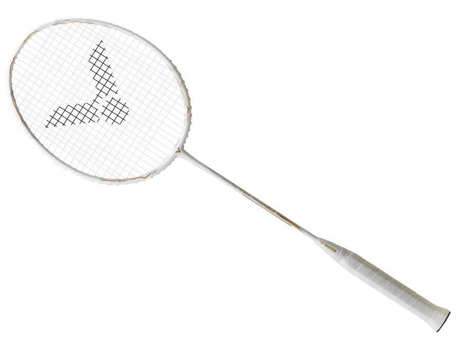 Victor Thruster K Falcon Claw [White] Badminton Racket above 150Victor - Yumo Pro Shop - Racquet Sports online store