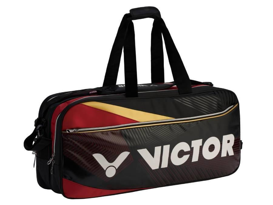 Victor BR-9609CD Racket Bag [Black/Red] timerVictor - Yumo Pro Shop - Racquet Sports online store