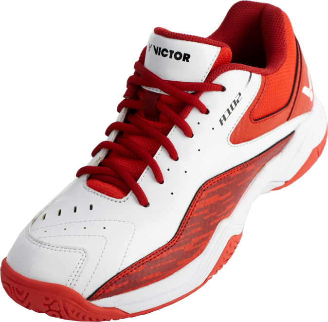 Victor A102 AD Unisex Court Shoes [Red/White] 2020Victor - Yumo Pro Shop - Racquet Sports online store