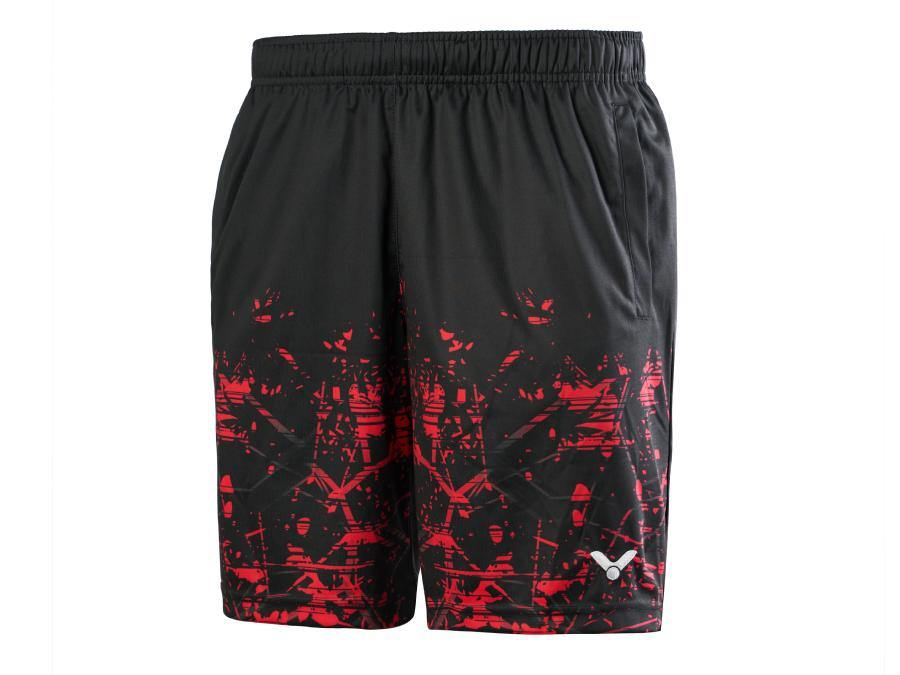 Victor R-00202D Shorts [RED] ClothingVictor - Yumo Pro Shop - Racquet Sports online store