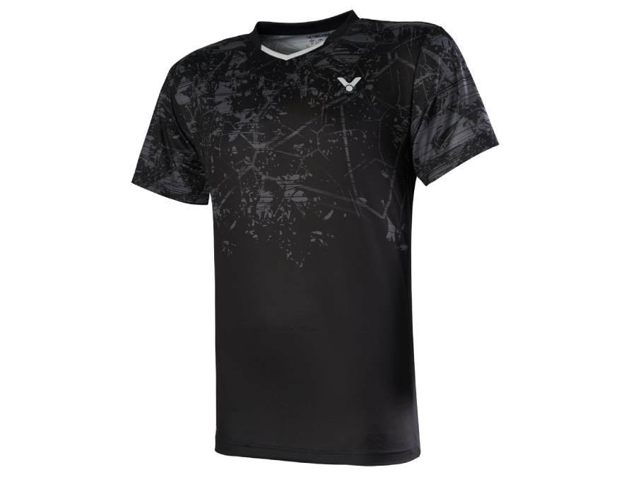 Victor T-00009 C  Game Shirt [Black] 2020Victor - Yumo Pro Shop - Racquet Sports online store