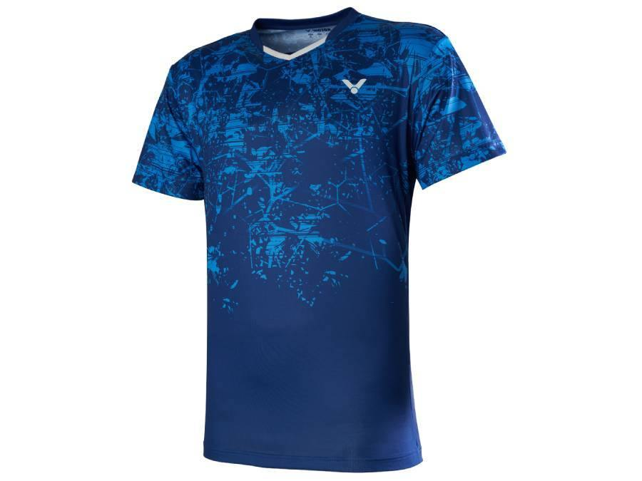 Victor T-00009 F Game Shirt [Blue] 2020Victor - Yumo Pro Shop - Racquet Sports online store