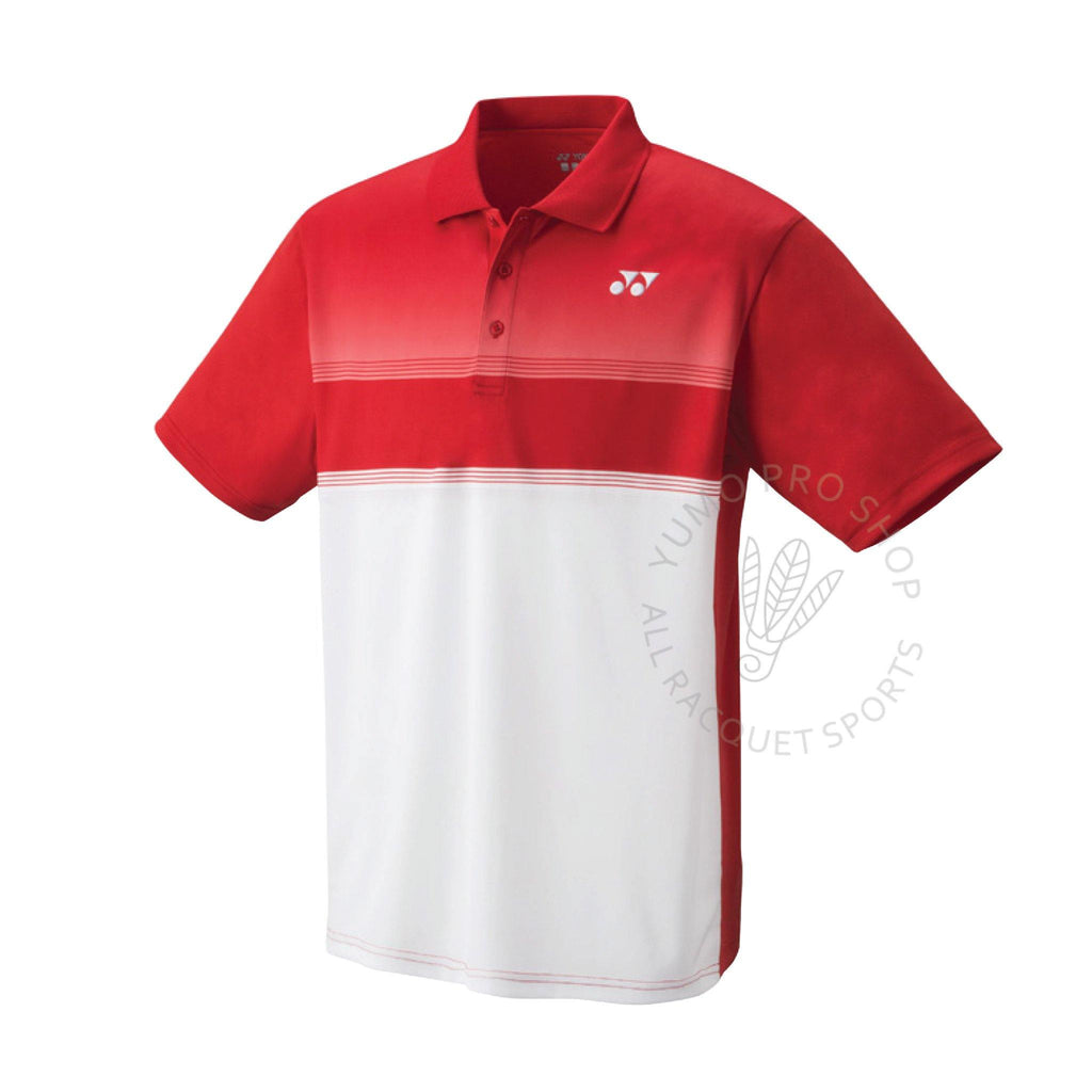 Yonex YM0019 Men's Polo shirt [Red] ClothingYonex - Yumo Pro Shop - Racquet Sports online store