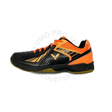 Yumo Pro Shop Victor Sport Global Canada AS-33 CO Orange Black Court Badminton Shoes Indoor