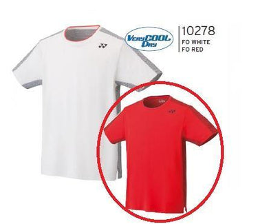 Yonex 10278EX Men's Game Shirt [Red]