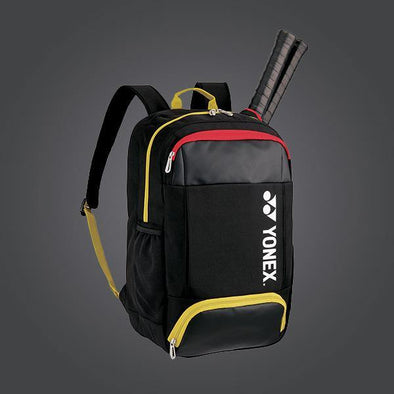 Yonex 82012SEX Small Backpack [Black/Yellow]