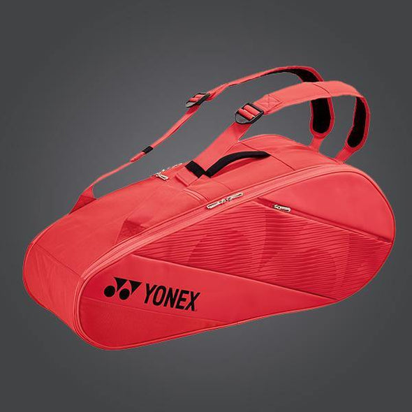 Yonex 82026EX 6 Piece Racket Bag [Bright Red]