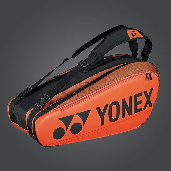 Yonex 92026EX - 6PCS Racket Bag [Copper Orange] 2020Yonex - Yumo Pro Shop - Racquet Sports online store