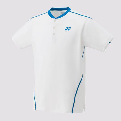 Yumo Pro Shop - Online Store - Yonex - 10226EX Men's Game Shirt French Open Crew - White
