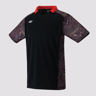 Yumo Pro Shop - Badminton Store Online - Yonex - 10230EX Men's Crew Neck Game Shirt - Black