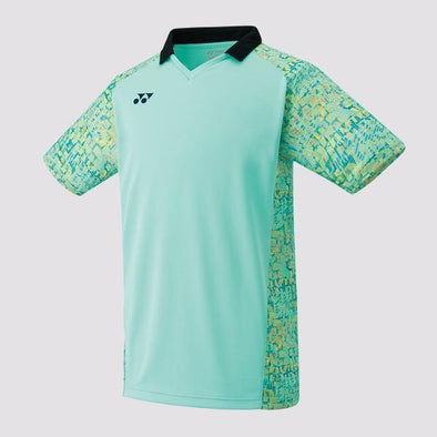 Yumo Pro Shop - Badminton Store Online - Yonex - 10230EX Men's Crew Neck Game Shirt - Mint