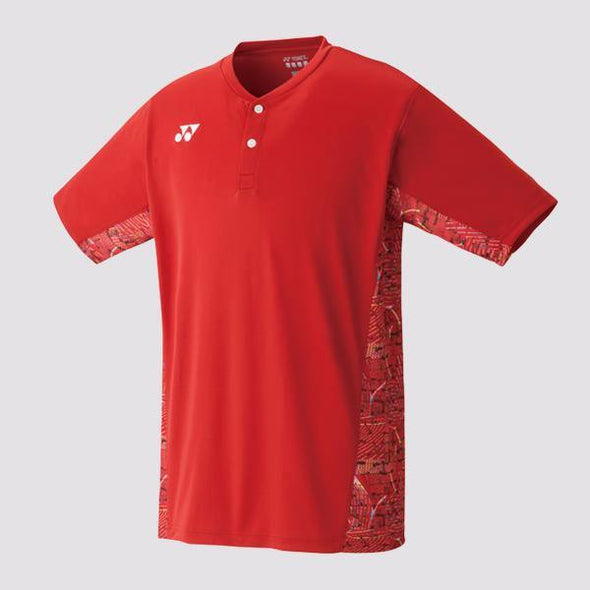 Yumo Pro Shop - Badminton Store Online - Yonex - 10232EX Men's Crew Neck Game Shirt - Red