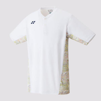 Yumo Pro Shop - Badminton Store Online - Yonex - 10232EX Men's Crew Neck Game Shirt - White