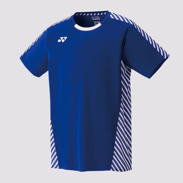 Yumo Pro Shop - Badminton Store Online - Yonex - 10249EX Men's Crew Neck Game Shirt - Blue Viktor Axelsen