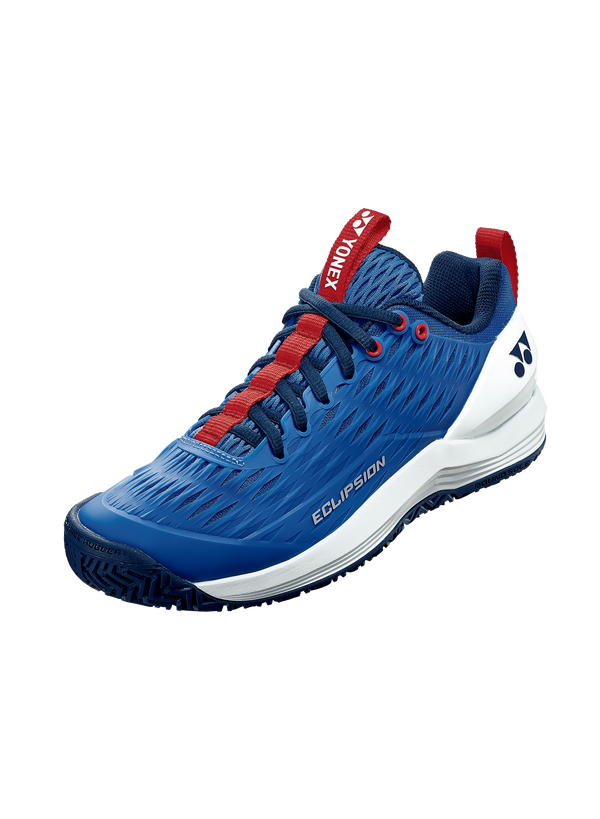2020 Yonex Power Cushion ECLIPSION 3 MENS: ALL COURTS [Blue/White] ShoesYonex - Yumo Pro Shop - Racquet Sports online store