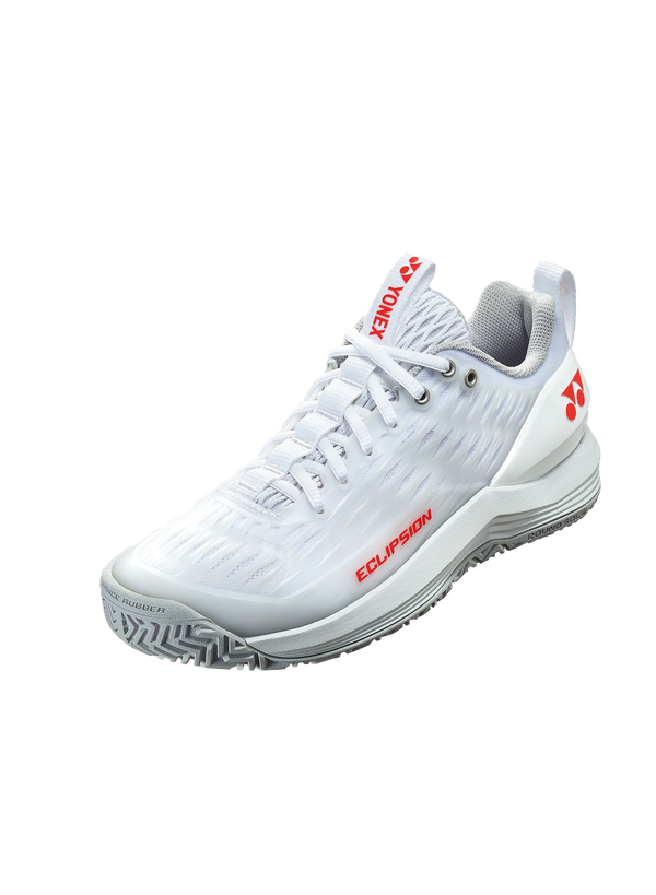 2020 Yonex Power Cushion ECLIPSION 3 LADIES: ALL COURTS [White/Red] ShoesYonex - Yumo Pro Shop - Racquet Sports online store