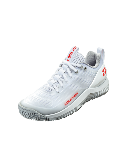 2020 Yonex Power Cushion ECLIPSION 3 LADIES: ALL COURTS [White/Red]