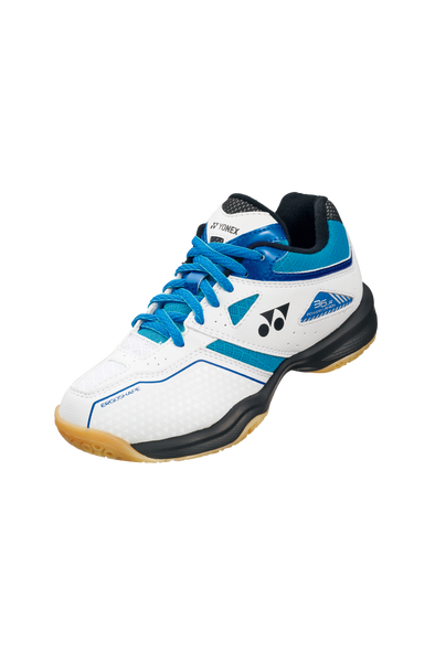Yonex Power Cushion 36 Junior Badminton Shoe [White/Blue]