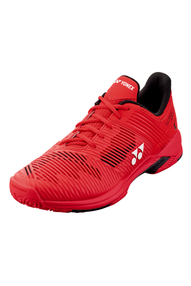 2020 Yonex Power Cushion SONICAGE 2 CLAY: ALL COURTS [Red]