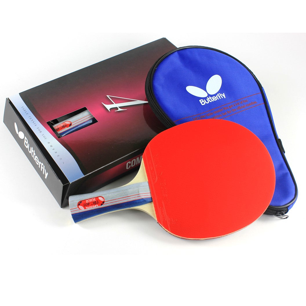New Butterfly BTY603-FL Ping Pong Paddle Shake Hand Table Tennis Racket