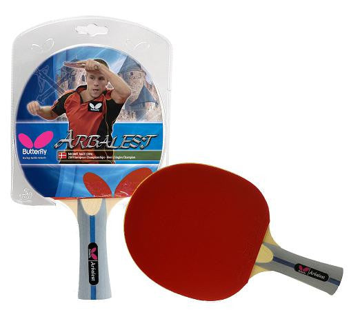 Butterfly Shakehand BTY Arbalest Racket - Yumo Pro Shop - Racket Sports online store
