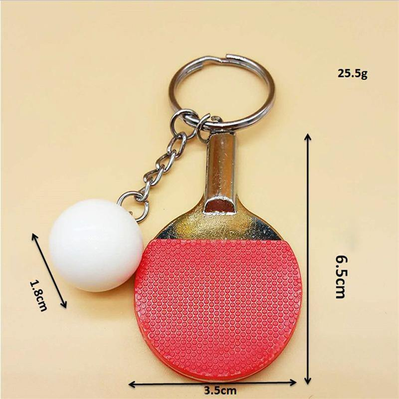 Mini Table Tennis Keychain AccessoriesYumo Pro Shop - Racquet Sports online store - Yumo Pro Shop - Racquet Sports online store