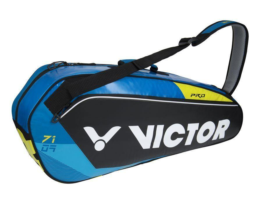 Victor BR 7109 FC 1 Compartment Racket Bag [Blue/Black] BagVictor - Yumo Pro Shop - Racquet Sports online store