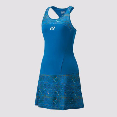 Yumo Pro Shop - Badminton Store Online - Yonex - 20410EX Women's Badminton Tennis Dress - Blue - 01