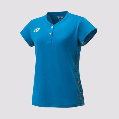 Yumo Pro Shop - Badminton Store Online - Yonex - 20412EX Women's Ladies Cap Sleeve Top Game Shirt - Blue