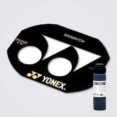 Yumo Pro Shop Badminton Racket Yonex Stencil Ink - Black - Red
