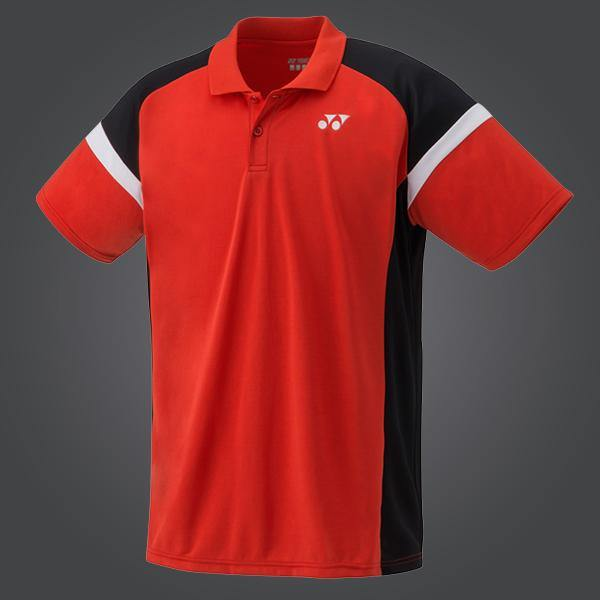 new concept 747ac f0ed8 Yonex YM0002EX Men's Team Polo Shirt [Red] -