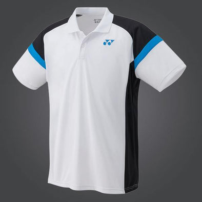 Yumo Pro Shop - Badminton Store Online - Yonex - YM0002EX Men's Game Polo Shirt - White