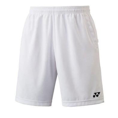 Yumo Pro Shop - Badminton Store Online - Yonex YM0004EX Men's Team Shorts White