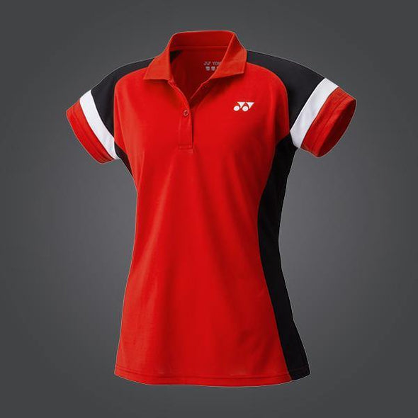 Yumo Pro Shop - Badminton Store Online - Yonex - YW0002EX Women's Game Team Polo Shirt - Red