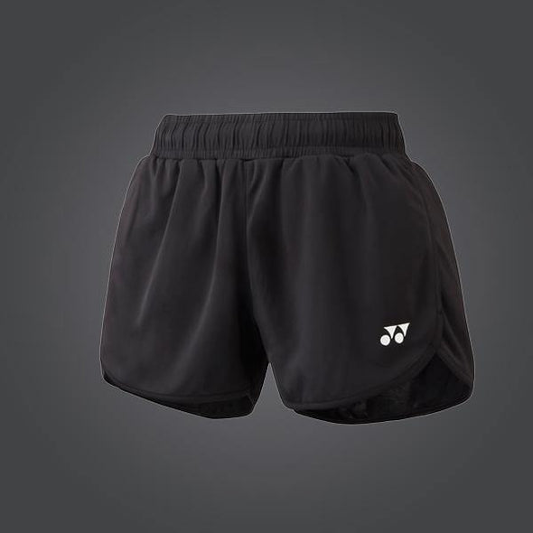 Yumo Pro Shop - Badminton Store Online - Yonex YW0004EX Women's Ladies Badminton Shorts Black - 01