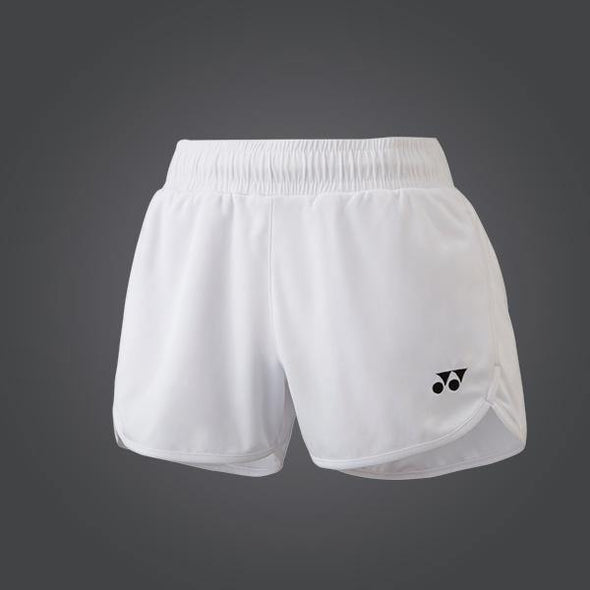 Yumo Pro Shop - Badminton Store Online - Yonex YW004EX Women's Ladies Badminton Tennis Game Shorts - White - 01