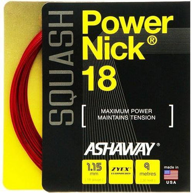 Ashaway Power Nick 18 - Red