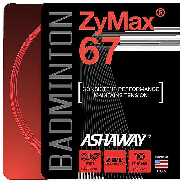 Ashaway ZyMax 67 - Red - Yumo Pro Shop - Racket Sports online store