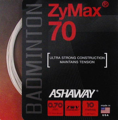 Ashaway ZyMax 70 - White / Black / Yellow - Yumo Pro Shop - Racket Sports online store - 1