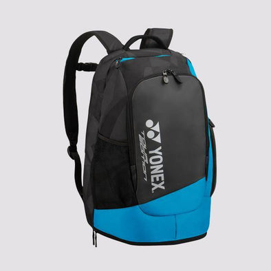 Yonex Yumo Pro Shop Pro Series Backpack Black Blue Badminton School Small Compact