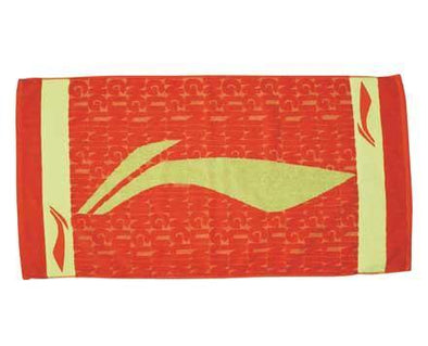 Li Ning Badminton Towel [RED] AMJJ012-1 - Yumo Pro Shop - Racket Sports online store