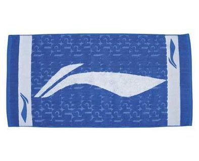 Li Ning Badminton Towel [BLUE] AMJJ014-1 - Yumo Pro Shop - Racket Sports online store