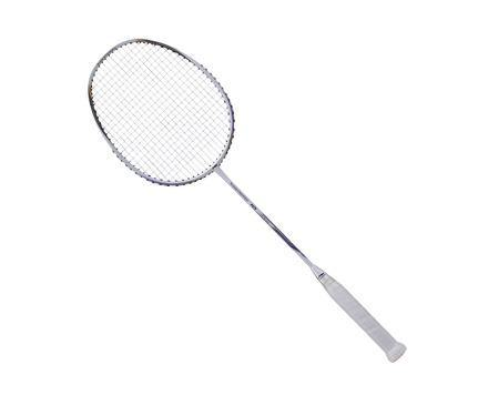 Li-Ning Turbo Charging 10 badminton Racket (White/Gold) [AYPM406]