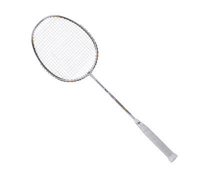 Li-Ning Turbo Charging 40 badminton Racket (White/Gold) [AYPM422] Badminton Racket below 150Li Ning - Yumo Pro Shop - Racquet Sports online store