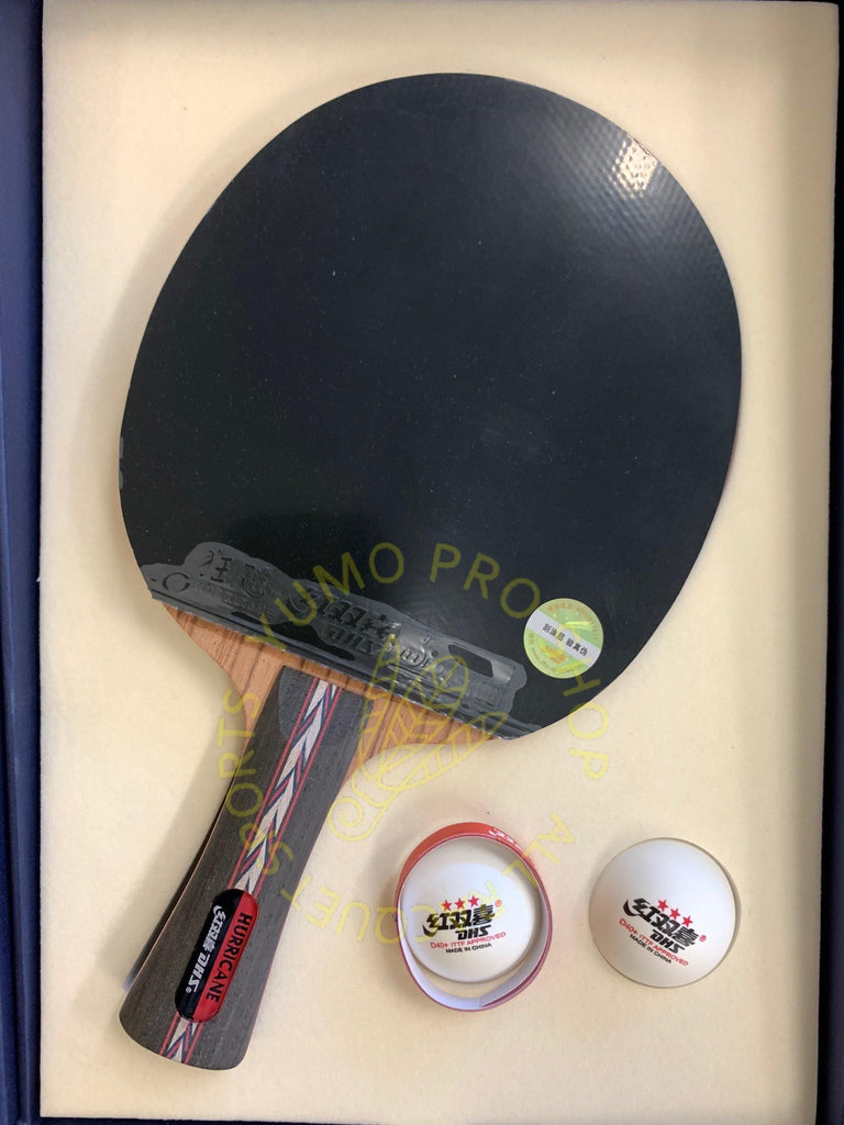 DHS Hurricane No.6 Shakehand (FL) Racket Set Table Tennis RacquetDHS - Yumo Pro Shop - Racquet Sports online store
