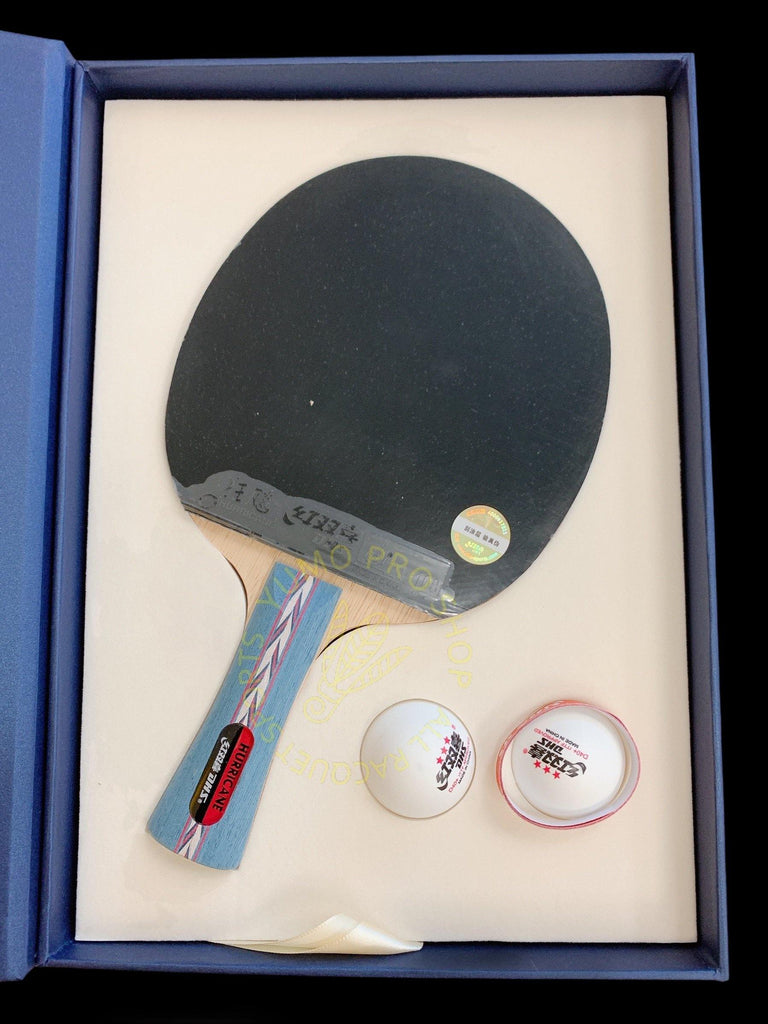 DHS Hurricane No.2 Shakehand (FL) Racket Set Table Tennis RacquetDHS - Yumo Pro Shop - Racquet Sports online store